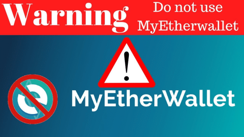 MyEtherWallet DNS Got Hacked
