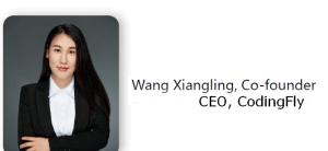 Wang Xiangling, Codingfly Co-founder, CEO