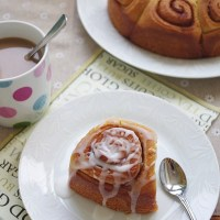 Cinnamon Rolls - Bánh Mì Cuộn Quế