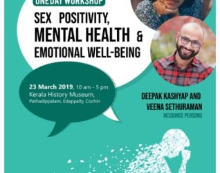Workshop on 'Sex-Positivity, Mental Health and Emotional Well-being!'