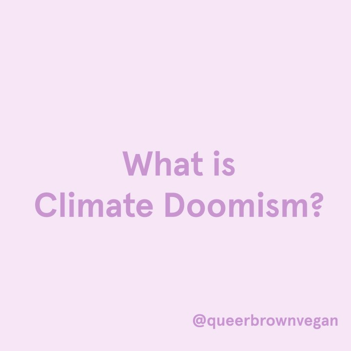 What is Climate Doomism?