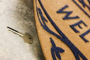 key under the mat