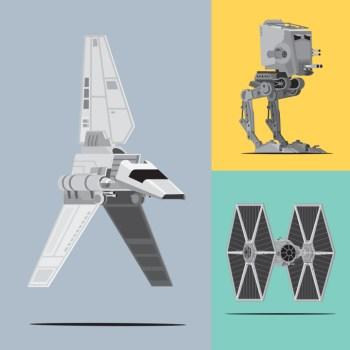 Veículos da trilogia original