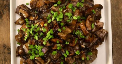 Jonathan Bardzik: Mongolian eggplant and mushrooms