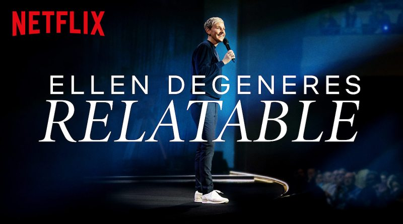 Ellen Returns To The Stage For A Netflix Special