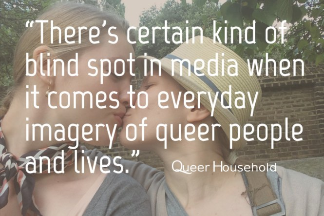 Problematics with Heteronormativity in Imagery - Queer Household