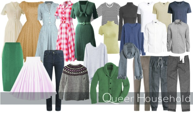 A colourful mess - Janina's wardrobe - Queer Household