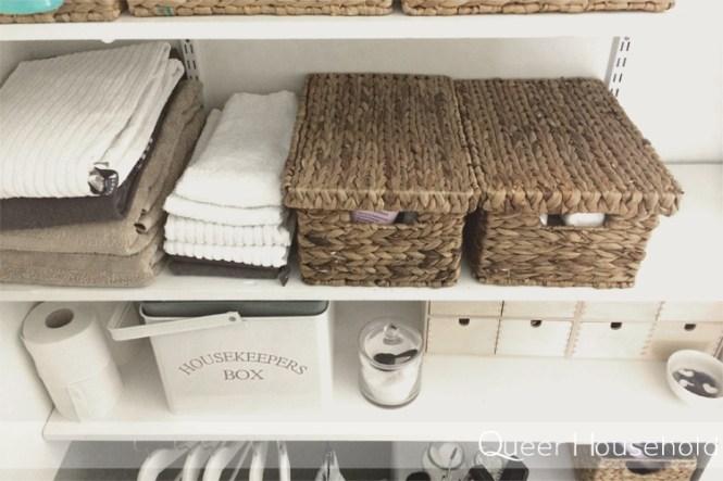 Reorganizing Small Multipurpose Bathroom Part 2