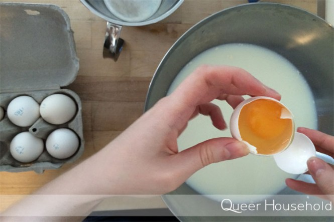 Making Pancakes - Queer Household