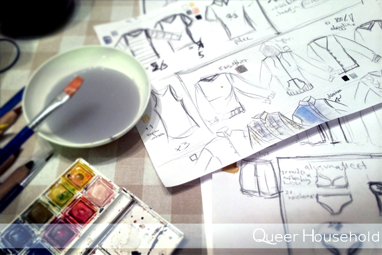 Planning the wardrobe - Queer Household
