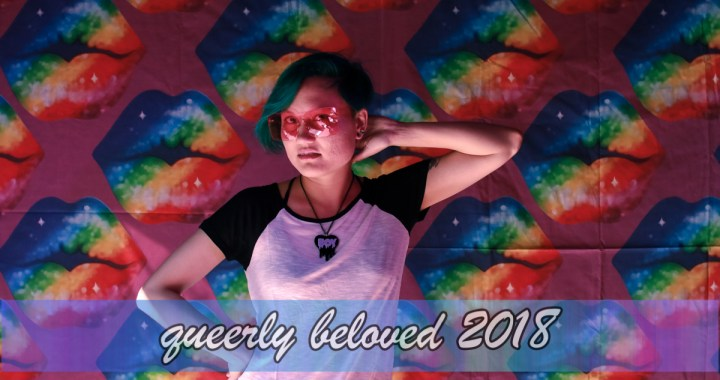 2018 Queerly Beloved Photobooth by Rae Threat