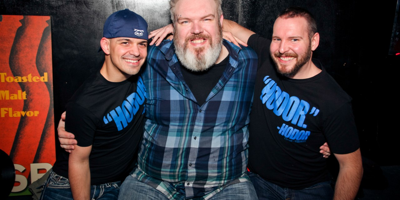 Pink Party Comicon featuring Kristian Nairn