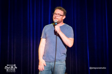Out & In headliner James Adomian. Photo by Robert Roth.