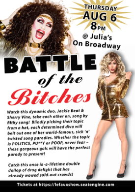 BATTLE of the Bitches Starring Jackie Beat and Sherry Vine