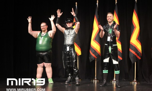 Mr. International Rubber: Squeaky, Shiny People and Their Toys