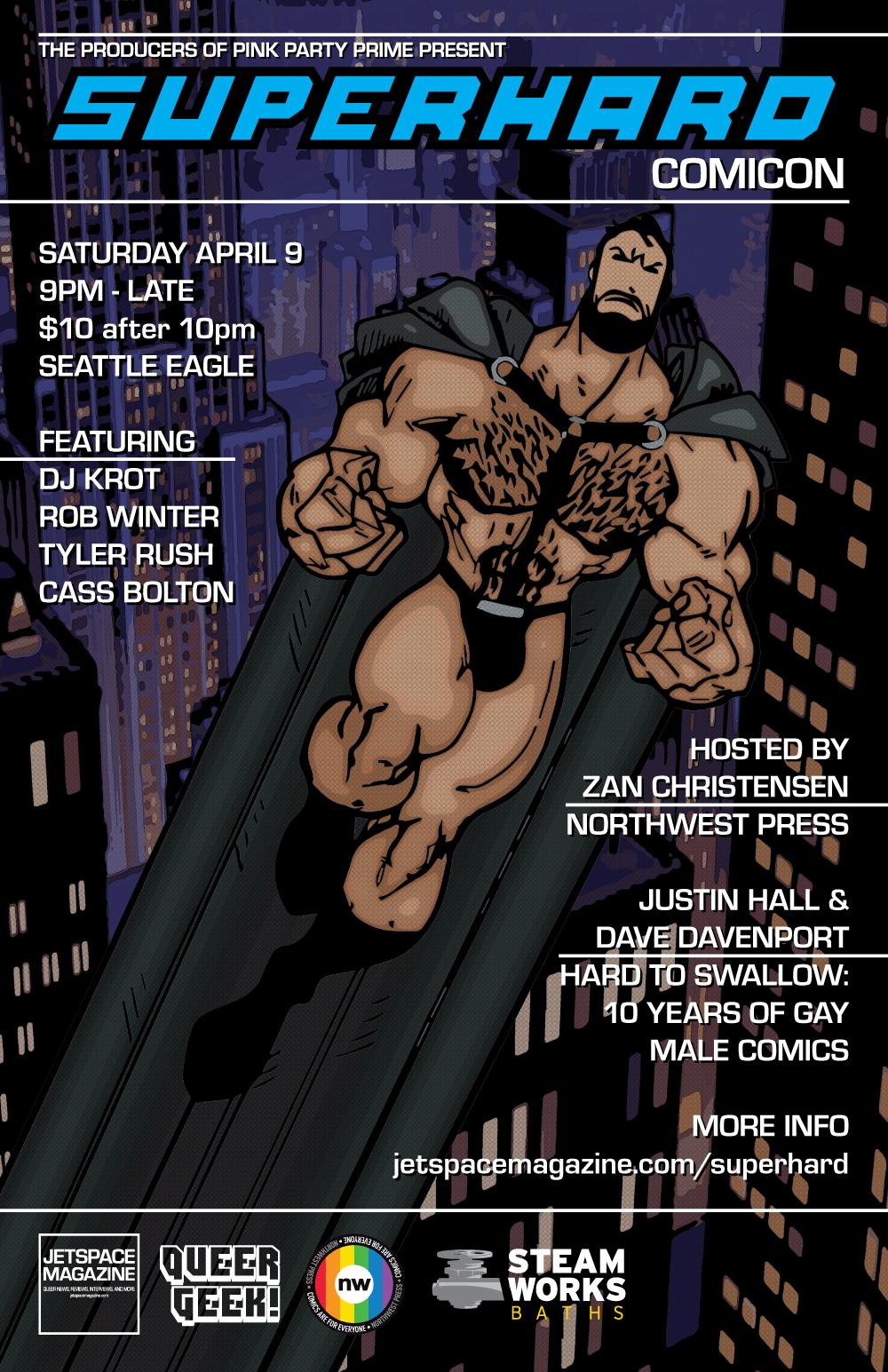 SuperHard Comicon