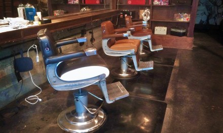 Shut Up I'm Talking: Intimate Portrait of a Barber Chair