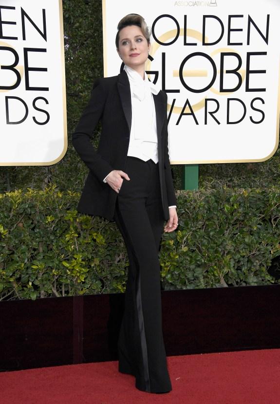 Evan Rachel Wood in Altuzarra.