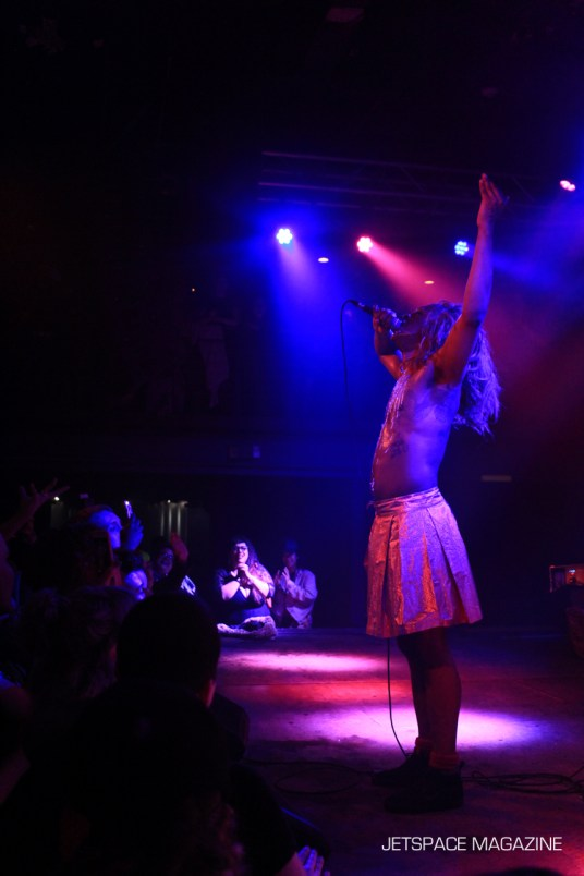 Mykki Blanco and Cakes Da Killa performing at Neumos 27 Feb 2017. Photos by Nome.