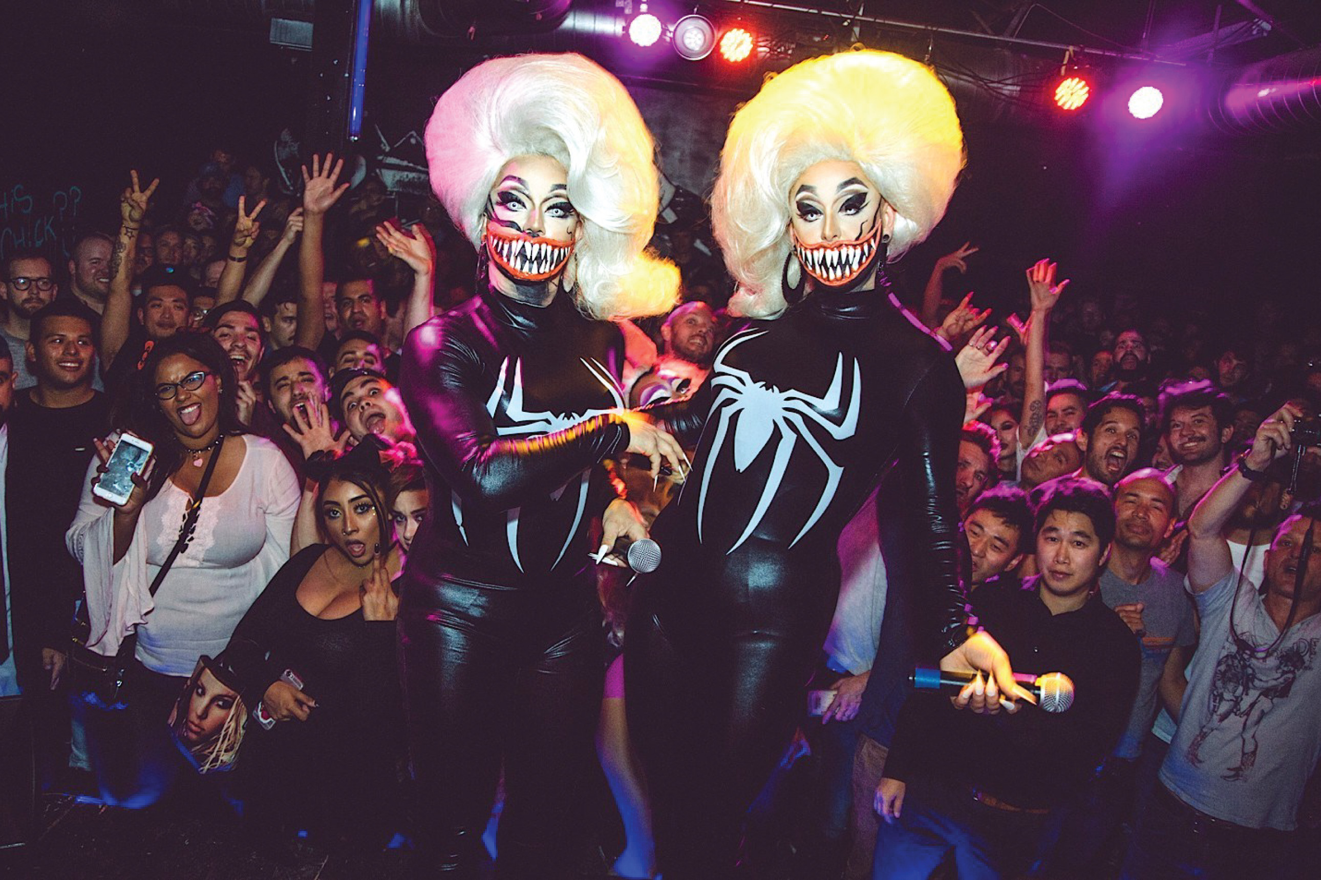 The Boulet Brothers at Queer Kong. Photo by Jeremy Lucido.