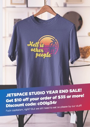 Jetspace Year End Sale