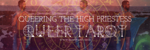 Queer Tarot Cards The High Priestess Queer Tarot the Oracle