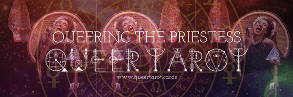 Queering The High Priestess / Oracle version 3