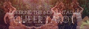Queering the 6 of Pentacles Queer Tarot 6 of Pentacles