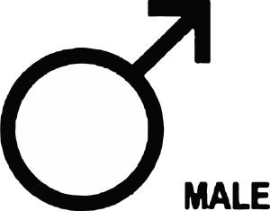 Queer Tarot: male Symbol
