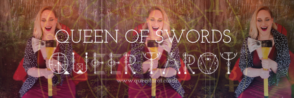 Queering The Queen of Swords Queer Tarot Cards The Queen of Swords Minor Arcana