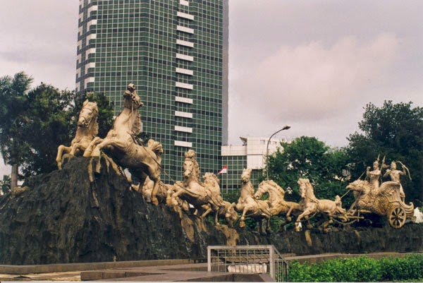 10 Foto Patung Kuda Arjuna Wijaya  Wiwaha Teknik