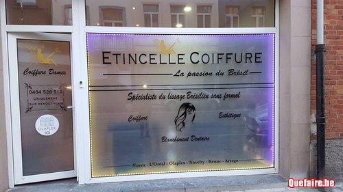 Salon de coiffure Etincelle coiffure Olaplex  Schaerbeek  Quefairebe