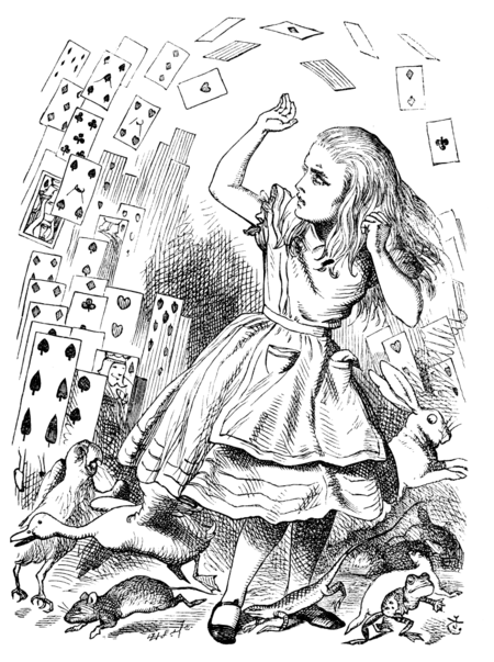 Comment Alice devint grande