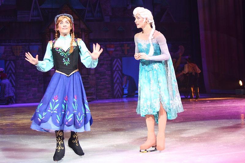 Disney sur glace revient au Dôme de Marseille
