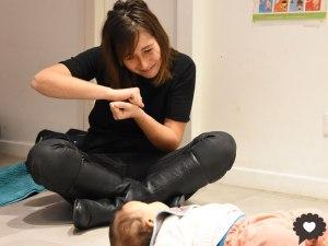 Signe avec bébé