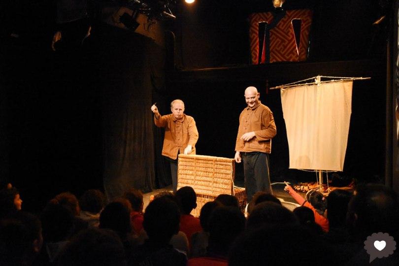 Marco Polo au Badaboum Théâtre