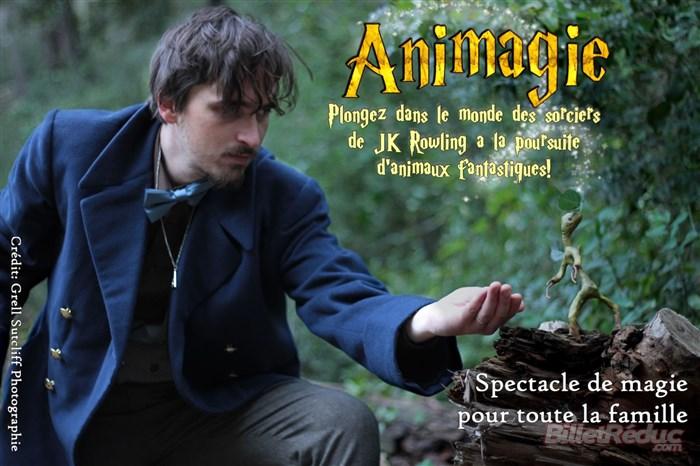 Animagie, un spectacle de magie dès 4 ans