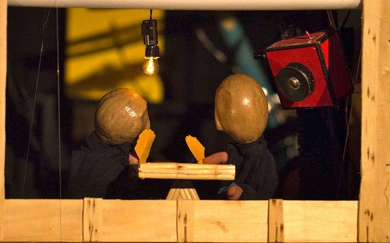 Miche et Drate, spectacle de marionnettes et théâtre d'objets