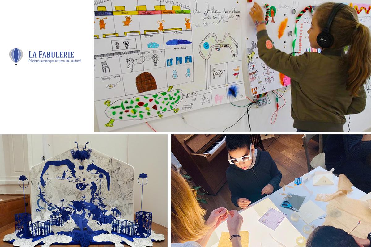 Ateliers enfants la Fabulerie Marseille