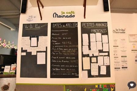 La Tribu Meinado, les activités