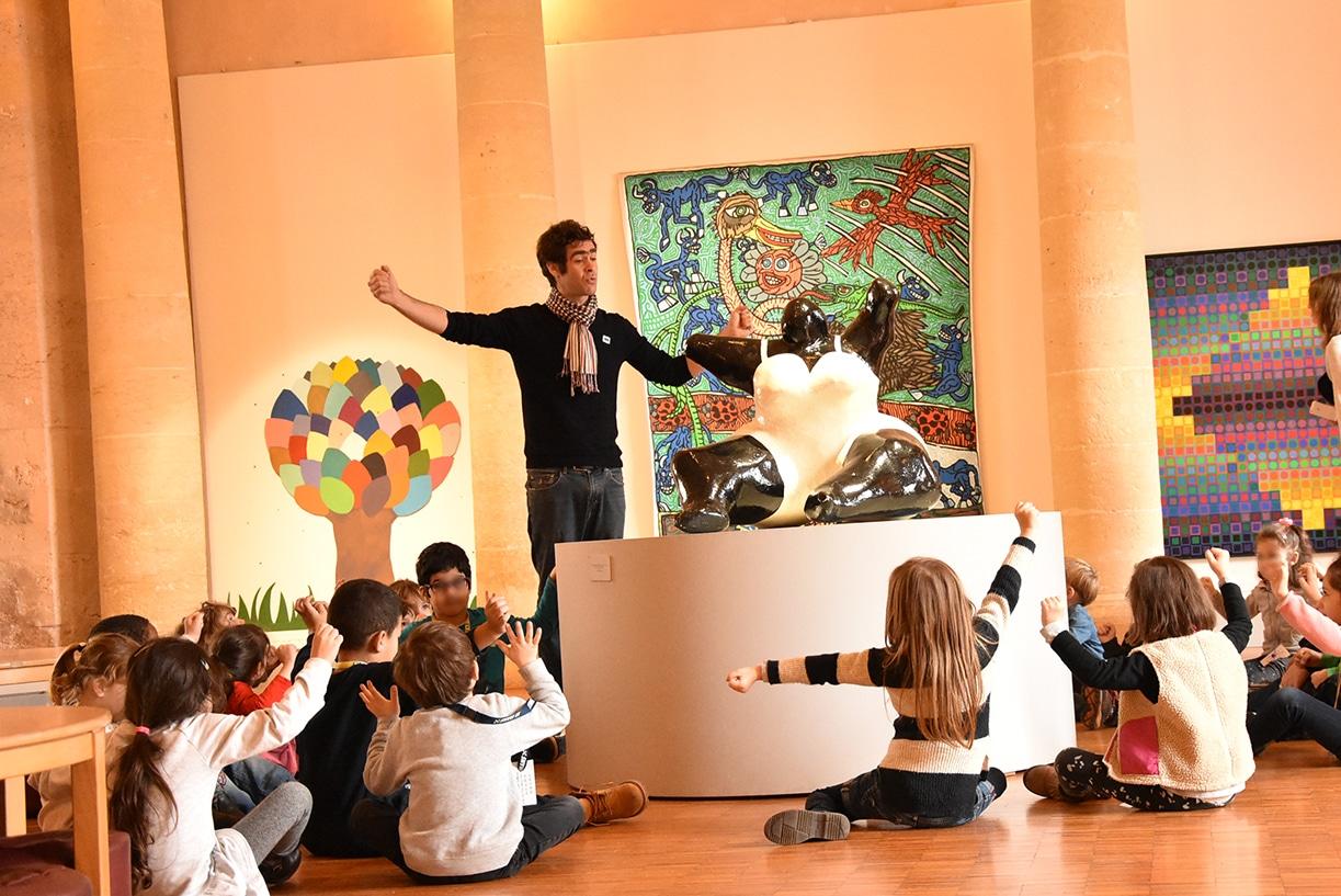 Préau des accoules musée gratuit pour les enfants