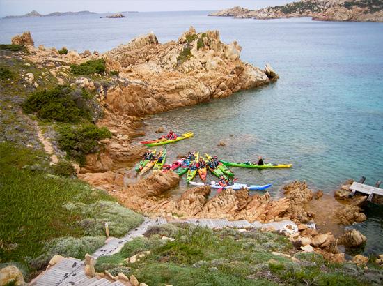 Kayak en famille