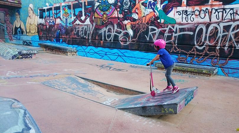 Skate, roller ou trottinette à Marseille