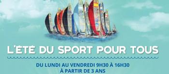 Sport à la plage l'été à Marseille