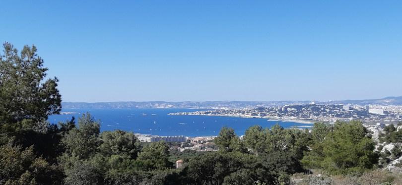 Vue Marseille de Campagne Pastré