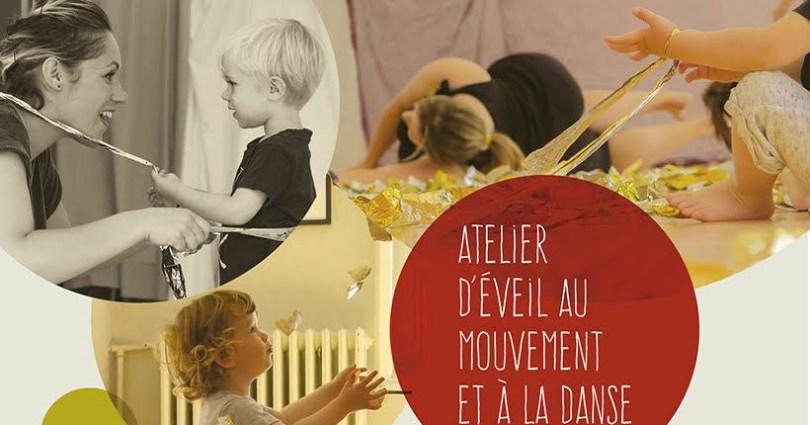 ateliers parent-enfant d'éveil au mouvement et à la danse reprennent