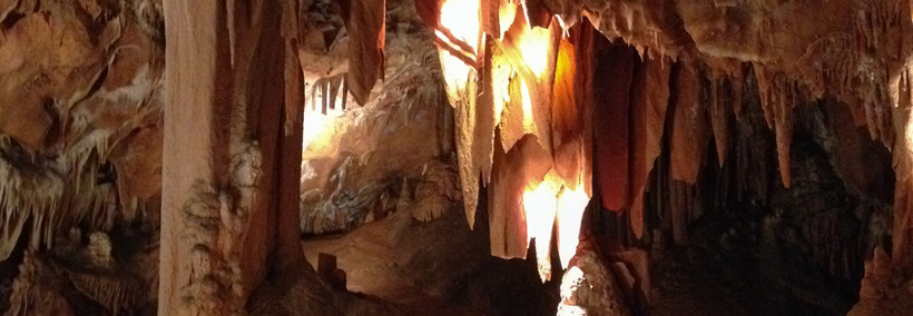 Découvertes des grottes en ardèche