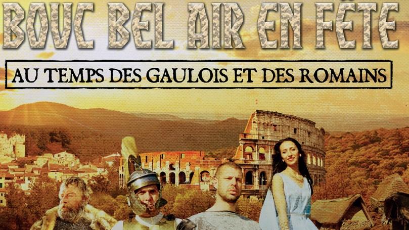 Bouc Bel Air en fête au temps des gaulois et des romains