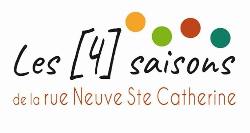 Les 4 saisons de la rue Neuve-Sainte-Catherine