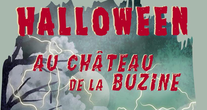 Halloween au Château de la Buzine